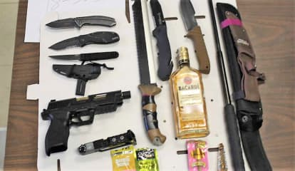 Passaic Sheriff: Route 23 Jalopy Stop Turns Up BB Handgun, Knives, Baton, More