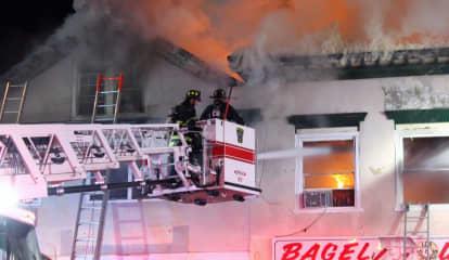 UPDATE: Multi-Alarm Fire Ravages Ridgewood Downtown