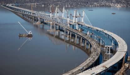 Driver At Large After Crashing Stolen Vehicle On New Tappan Zee Bridge, Fleeing Scene