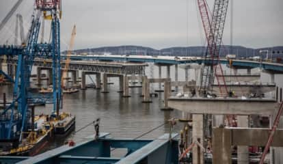 Girder Work Starts On New TZB, Leading To I-87 Lane Closures