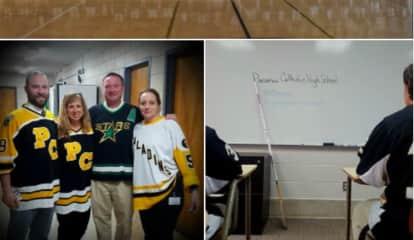 Paramus Catholic Hockey Team Honors Humboldt Following Fatal Crash