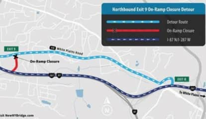 Lane, Ramp Closures Near New Tappan Zee Bridge Announced