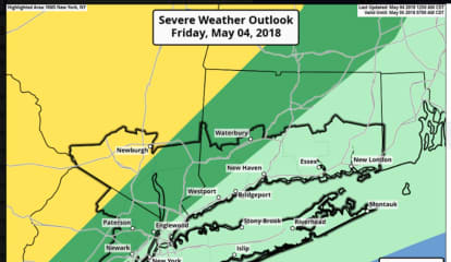 New Round Of Thunderstorms With Gusty Winds Possible