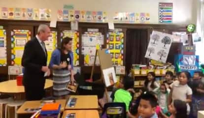VIDEO: Gov. Murphy Surprises 'Inspiring' Hackensack Teacher During Class