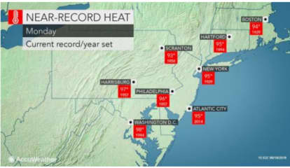 Super Scorcher: Record-Breaking Temps Possible With Heat Index Of 100