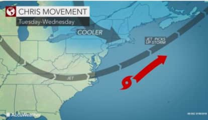 Tropical Storm Chris Swirls Off Atlantic Coast: Will It Impact Area?