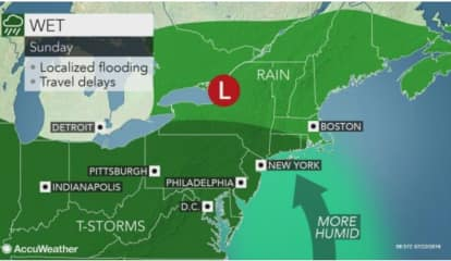 Sticky, Stormy: Shift In Weather Pattern Starts Sunday