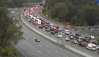 Separate Crashes Cause Gridlock On I-87 In Westchester, Rockland