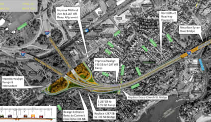 $135M Construction Project Starts On I-95 In Westchester