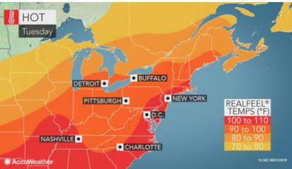 Dangerous Heat: Temperature, Humidity Will Combine To Make It Feel As High As 110 Degrees