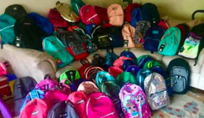 Back To School: Westchester Correction Officers Donate Backpacks To The Sharing Shelf