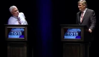 Second To Last Gubernatorial Debate Features Three Candidates