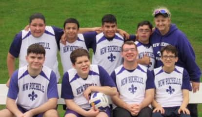 New Rochelle Special Olympics Team Stars At Soccer Tournament