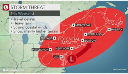 Powerful Nor'easter Will Bring Soaking Rain, Gusty Winds, Snow To Parts Of Area