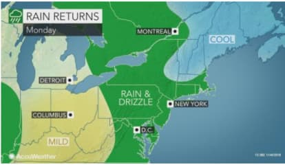 New Round Of Soaking Rain, Gusty Winds, Storms Coming Our Way, Including On Election Day