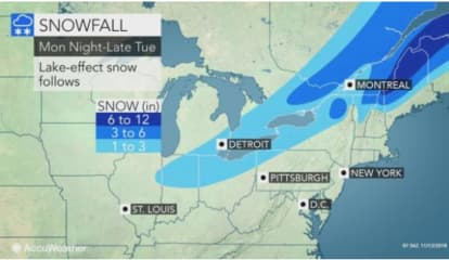 "Storm Watch: Up To 2"" Of Rain Here, Half-Foot Of Snow In Upstate NY, NH, VT"