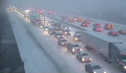 Numerous Crashes, Stuck Vehicles Reported Throughout Area
