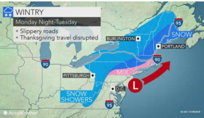 Snow Returns Early This Week Before Big Change For Thanksgiving