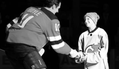 NJ Devils Surprise Young Bergen County Cancer Survivor