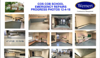 Cos Cob School Reconstruction Project On Schedule For Return To Classrooms