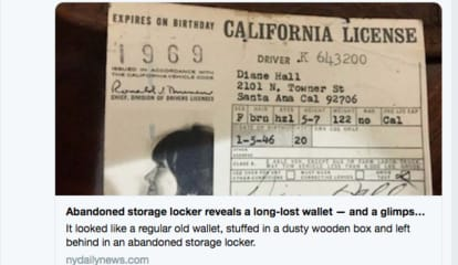 Lost Diane Keaton Wallet From 50 Years Ago Discovered In Area Storage Unit