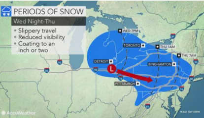 Snow Showers, Freezing Drizzle Possible Before Rainstorm Leads To Warmer Temps