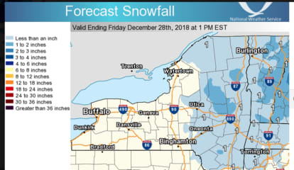 Storm System Will Bring Rain, Sleet To Much Of Area, Snow Farther North