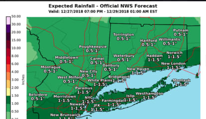 Eye Of The Storm: Heavy Rain Could Cause Flooding; Here's How Much To Expect