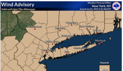 Wind Advisory: Strong Gusts Up To 50 MPH Could Cause Power Outages