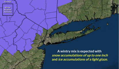Winter Weather  Advisory Issued: Plan On Slippery Road Conditions During Morning Commute