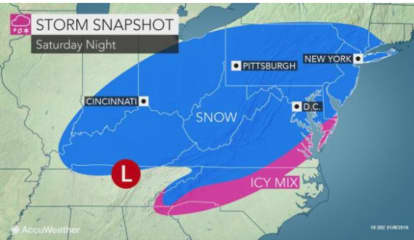 Weekend Snowstorm? System Will Move In After Midweek Gusty Winds Could Cause Power Outages