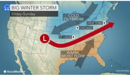 Major Storm Could Bring Significant Snowfall To Area