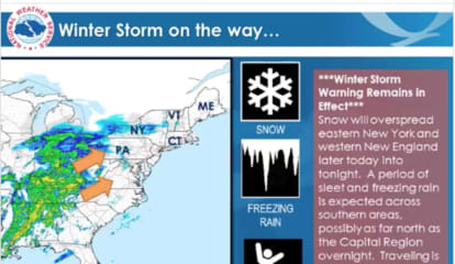 New Storm Update: Get Set For Snow, Freezing Rain, Followed By Flash Freeze, Icing