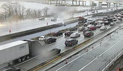 Crash Causes Gridlock On Tappan Zee Bridge During Evening Commute