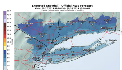 Snowfall Projections Released For Quick-Moving Storm That Will Sweep Through Area