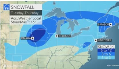 Midweek Storm Will Bring Accumulating Snow, Wintry Mix To The Area