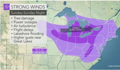 Strong Storm With Damaging Wind Gusts Up To 60 MPH Could Cause Power Outages