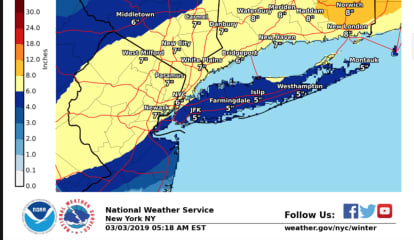 Winter Storm Warning: Projected Snowfall Totals Increase For Major Storm