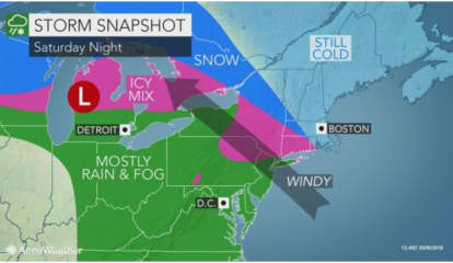 Storm Watch: Here's Latest On What To Expect, And When From System That Will Sweep Through Area
