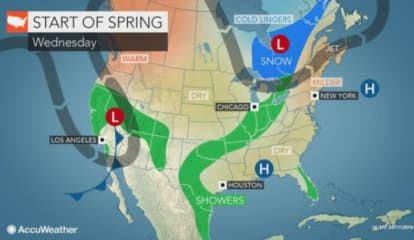 Swing Into Spring: As New Season Arrives, We'll See A Change In The Weather Pattern