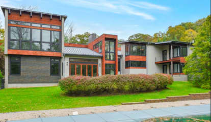 PHOTOS: Contemporary Saddle River Home Hits Market At $2.49M