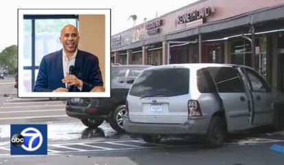 Van Plowing Through Miami Cafe Window Brings Cory Booker's Speech To Screeching Halt