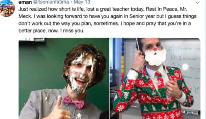 'Best Teacher Ever': Clifton High School Mourns Bio Teacher Mr. Meck, 35