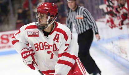 Hockey Standout From Ridgefield Signs Contract With Chicago Blackhawks, Makes Pro Debut In AHL