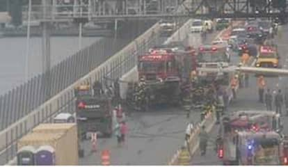 New Tappan Zee Bridge Span Reopens After Fire Breaks Out On RV