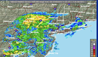 Surprise Round Of Rain, Showers Moving Through Area: Here's How Long It Will Last