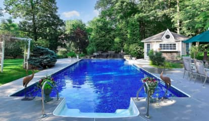 PHOTOS: These New Bergen County Real Estate Listings All Have Pools