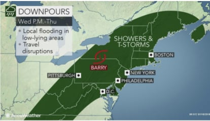 Remnants Of Tropical Depression Barry Will Bring Drenching Downpours