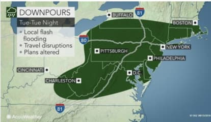 Projected Rainfall Totals Increase For Storm System Sweeping Through Area