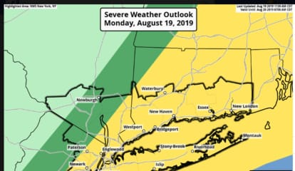 New Round Of Scattered, Severe Thunderstorms Sweeping Through Area